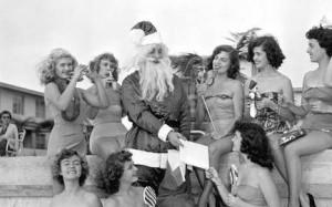 Old Santa Photo