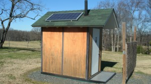 Chinqua Penn Solar-Powered Bathroom