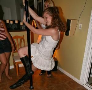Indoor Stripper Pole