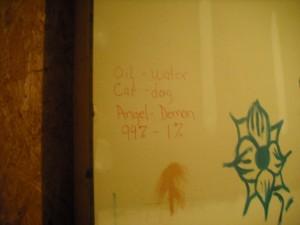 Occupy Artfest wall