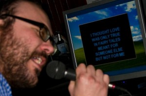 Charlie Wood Screaming Karaoke