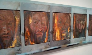 Jerome Witkin art at the Weatherspoon