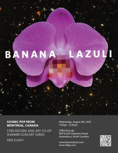 Banana Lazuli Greensboro Show